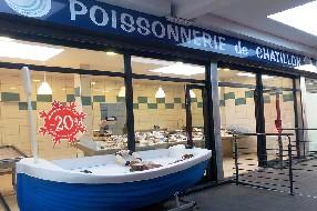 logo La Poissonnerie de Châtillon